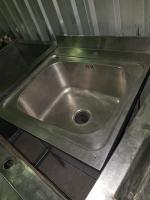 Ванна моечная цельнотянутая 500*400*860 БУ