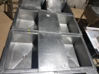 Ванна моечная 2-ух секционная 1200*600 БУ
